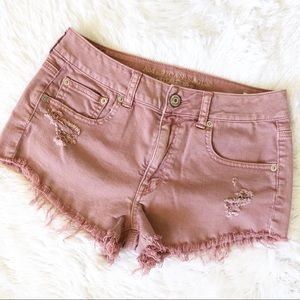 American Eagle Outfitters Blush Pink Shorts